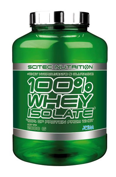 100 % Whey Isolate*