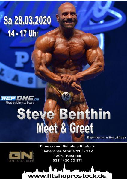 Meet & Greet Einzelkarte Steve Benthin