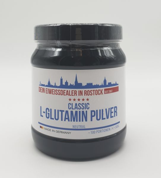Classic L-Glutamin Pulver