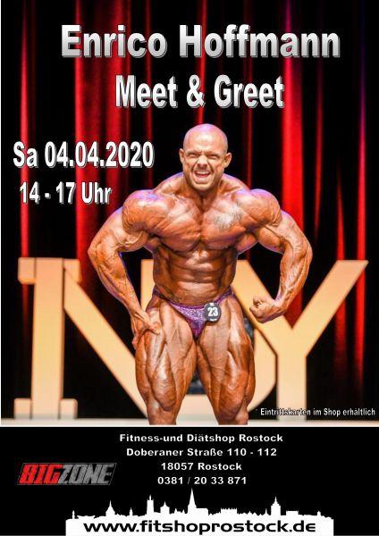 Meet & Greet Specialcard Steve Benthin + Enrico Hoffmann