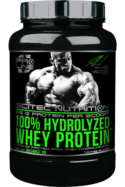 100% Hydrolized Whey Protein