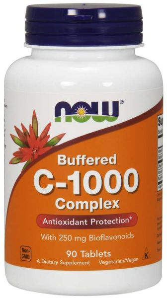 Now Buffered Vitamin C-1000 Complex